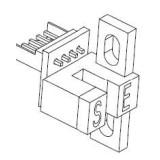 قطعات یدکی پرینتر Fargo C50-PCB Sensor-Encoder Wheel-A930514