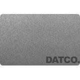 کارت پی وی سی خام خاکستری متالیک- بسته 200 عددی
